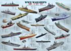 WWII War Ships - 1000pc Educational Jigsaw Puzzle by Eurographics