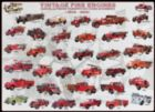 Vintage Fire Engines - 1000pc Jigsaw Puzzle by Eurographics
