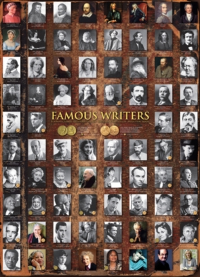 Eurographics Jigsaw Puzzles - Famous Writers
