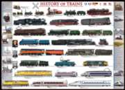 History of Trains - 1000pc Jigsaw Puzzle by Eurographics