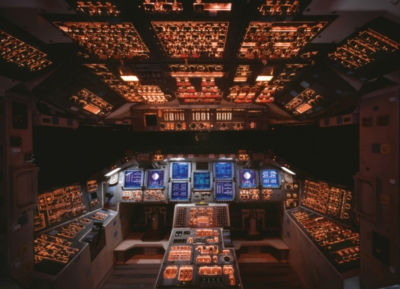 Space Shuttle Cockpit - 1000pc Jigsaw Puzzle by Eurographics
