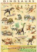 Dinosaurs - 1000pc Jigsaw Puzzle by Eurographics