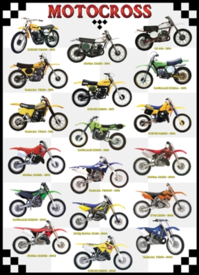 Eurographics Jigsaw Puzzles - Motocross