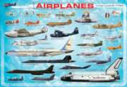 Eurographics Jigsaw Puzzles - Airplanes