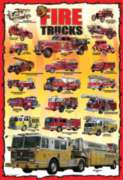 Eurographics Jigsaw Puzzles - Fire Trucks