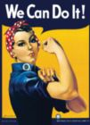 Rosie the Riveter - 1000pc Jigsaw Puzzle by Eurographics
