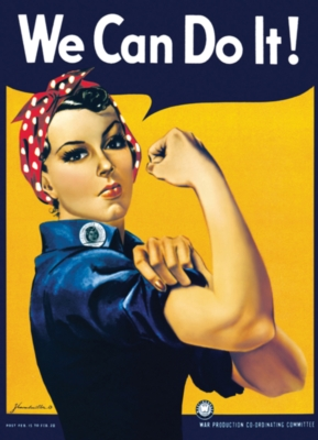 Eurographics Jigsaw Puzzles - Rosie the Riveter