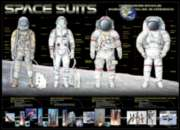Space Suits - 1000pc Jigsaw Puzzle by Eurographics