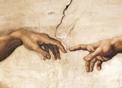 Creation of Adam (detail) - 1000pc Jigsaw Puzzle by Eurographics