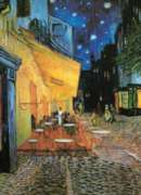 Cafe at Night - 1000pc Jigsaw Puzzle by Eurographics