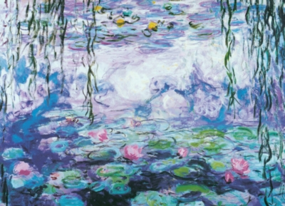 Water Lilies - 1000pc Jigsaw Puzzle by Eurographics