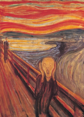 The Scream - 1000pc Jigsaw Puzzle by Eurographics
