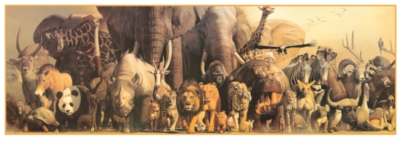 Noah's Ark - 750pc Jigsaw Puzzle by Eurographics