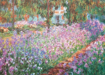 Monet's Garden - 1000pc Jigsaw Puzzle by Eurographics