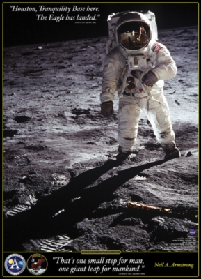 Walk on the Moon - 1000pc Jigsaw Puzzle by Eurographics