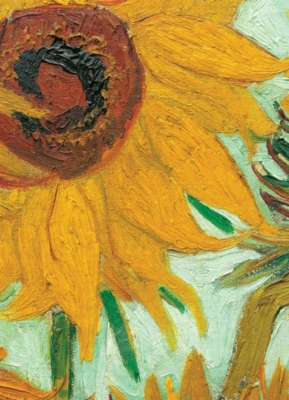 Van Gogh: Sunflowers (detail) - 1000pc Jigsaw Puzzle by Eurographics