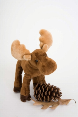 "Lumberjack Moose - 7"" Moose By Douglas Cuddle Toy"