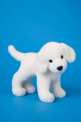 "Finley Yellow Lab - 8"" Dog By Douglas Cuddle Toy"