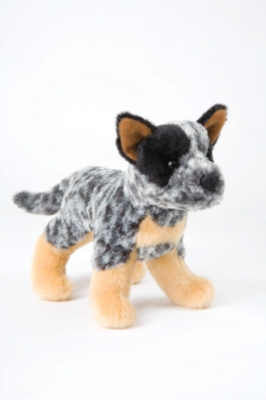 "Clanger Australian Cattle Dog - 8"" Dog By Douglas Cuddle Toy"