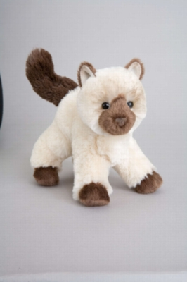 "Hilda Himalayan Cat - 6.5"" Cat By Douglas Cuddle Toy"