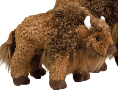 "Bodi Buffalo - 8"" Buffalo By Douglas Cuddle Toy"