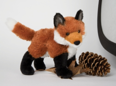 Francine Fox - 7&quot; Fox By Douglas Cuddle Toy
