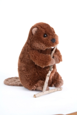 Buddy Beaver - 7&quot; Beaver By Douglas Cuddle Toy