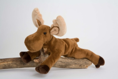 "Mable Moose - 9.5"" Moose By Douglas Cuddle Toy"