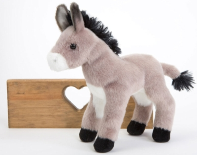"Bordon Burro - 8"" Donkey By Douglas Cuddle Toy"