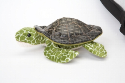 "Seaweed Sea Turtle - 9"" Turtle By Douglas Cuddle Toy"