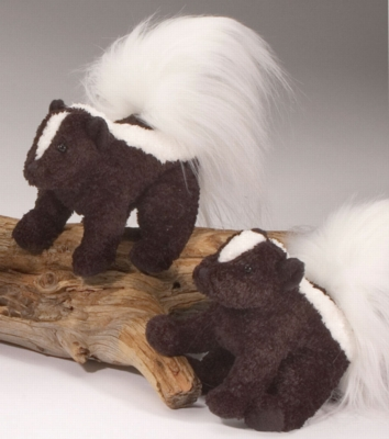 "Bloom Skunk - 6"" Skunk By Douglas Cuddle Toy"