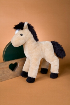 "Breezy Buckskin Horse -11"" Horse By Douglas Cuddle Toy"