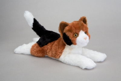 "Zesty Calico Cat - 13"" Cat By Douglas Cuddle Toy"