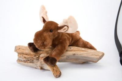 "Withers Moose - 13"" Moose By Douglas Cuddle Toy"