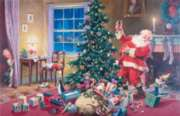 Santa - 1000pc Jigsaw Puzzle by Piatnik