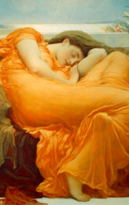 Hard Jigsaw Puzzles - Frederick Leighton: Flaming June