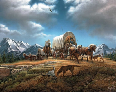 Jigsaw Puzzles - O Beautiful for Spacious Skies