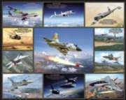 Jigsaw Puzzles - Legendary Aircraft