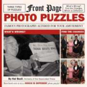 "Front Page Photo Puzzles, 112 pages, (8"" x 8"" Paperback)"