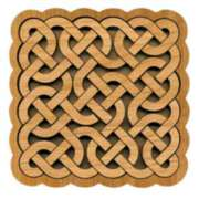 Paradigm Puzzles: Celtic Knot - Volumetric Pattern Puzzle