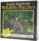 White-Tailed Fawns - 550pc Jigsaw Puzzle by Channel Craft