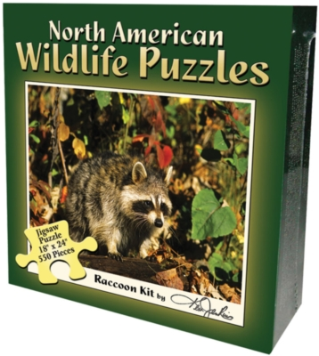 Jigsaw Puzzles - Raccoon Kit