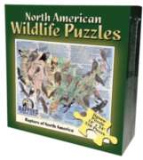 Raptors of the US - 550pc Jigsaw Puzzle by Channel Craft