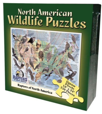 Jigsaw Puzzles - Raptors of the US