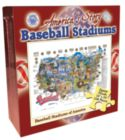 Baseball Stadiums - 550pc Jigsaw Puzzle by Channel Craft
