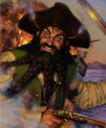 Blackbeard's Revenge - 550pc Jigsaw Puzzle by Channel Craft