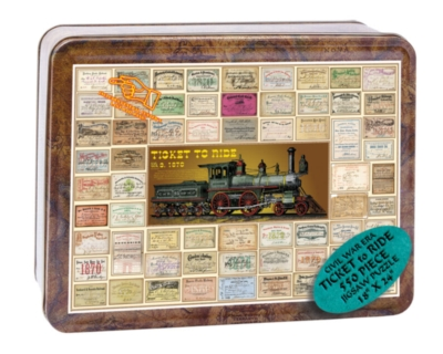 Civil War, Ticket to Ride - 550pc Tin Boxed Jigsaw Puzzle by Channel Craft