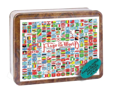 Flags of the World - 550pc Tin Boxed Jigsaw Puzzle by Channel Craft