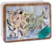 Raptors of North America (Tin Box) - 550pc Tin Boxed Jigsaw Puzzle by Channel Craft