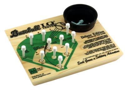 Wood Puzzles - IQ Tester, Baseball